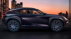 Lexus UX Concept : encore un concurrent pour le X4 ?