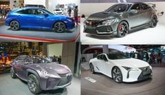 Mondial de l automobile 2016, les nouveautés japonaises