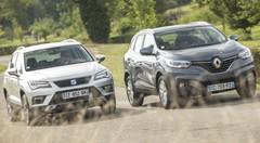 Essai comparatif : le Seat Ateca défie le Renault Kadjar