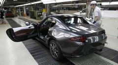 Mazda lance la production du coupé MX-5 RF
