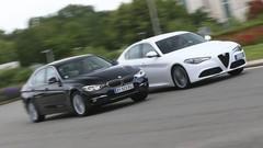 Match Alfa Romeo Giulia contre BMW 320d : Questions de priorités
