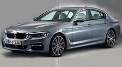 BMW Série 5 2017 (G30) : première photo officielle