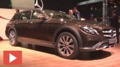 La Mercedes Classe E All-Terrain en direct du Mondial