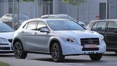 La Mercedes GLA restylée prend la lumière