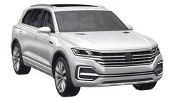 Volkswagen Touareg : images 3D en fuite