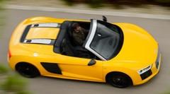 Essai Audi R8 Spyder 2017 : Pluie belle la vie