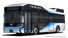 Toyota va vendre des autobus à hydrogène