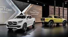 Mercedes X-Class Concept : premier pick-up de la marque