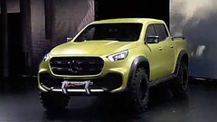 Mercedes lance son Pick-Up, le X-Class