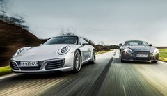 Match Porsche 911 contre Aston Martin V8 Vantage : L'étoffe des artistes