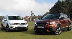 Essai Peugeot 3008 vs Volkswagen Tiguan : qui est le roi de la jungle ?