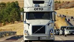 Uber Otto : première livraison d'un camion sans chauffeur !