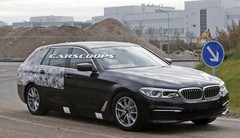 Spyshot BMW Série 5 Touring 2017 : parée pour le début d'année