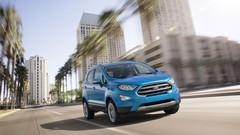 Ford Ecosport: nouveau visage et planche de bord modernisée
