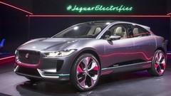 Jaguar présente à Los Angeles son premier modèle tout-électrique, attendu pour 2018