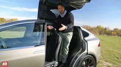 Essai Tesla Model X 2016 : notre essai habitabilité