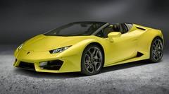 La Lamborghini Huracan Spyder passe aux deux roues motrices
