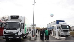 Gaz naturel : la plus grande station-service de France inaugurée près de Paris