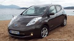 J'ai conduit la Nissan Leaf électrique en Corse