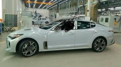 Kia GT : la séduisante berline coréenne surprise dans son usine