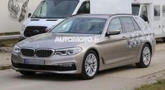 La BMW Série 5 Touring se déleste d'une partie de son camouflage