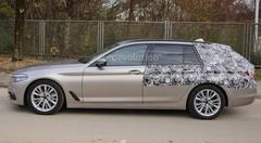 Le futur break BMW Série 5 prend la lumière