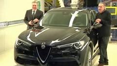 Alfa Romeo Stelvio (2017) : première photo de la version de base