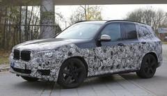 Le futur BMW X3 en tenue de camouflage allégée