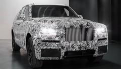 Le SUV Rolls-Royce Cullinan se découvre légèrement