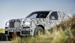 Rolls-Royce Cullinan : Le SUV !