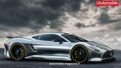"""Une """"F1 de route"""" en préparation chez Mercedes-AMG"""