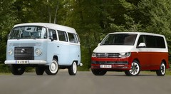 Essai Volkswagen T2 1967 vs Volkswagen Multivan 2015 : autant en emporte le van