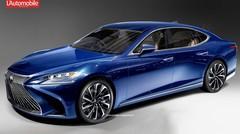 La future Lexus LS donne rendez-vous à Detroit