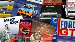 Notre sélection 2016 de livres et de BD sur l'auto et le cinéma, la course et le cinéma