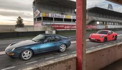 Essai Porsche 968 vs 718 Cayman : le choc des générations