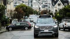 Les voitures autonomes d'Uber temporairement interdites à San Francisco