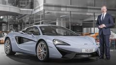 McLaren Automotive célèbre la production de sa 10 000ème voiture de sport
