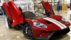 Ford GT : le premier exemplaire est sorti des lignes de production