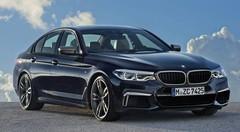 La BMW Série 5 se décline en 550i xDrive