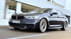 BMW M550i xDrive (2017) : un V8 de 462 ch pour la Série 5 à Detroit