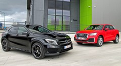 Essai Audi Q2 vs Mercedes GLA : Crossovers de poche