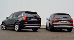 Essai Audi Q7 V6 TDI 211 vs Volvo XC90 D5 : A armes égales…