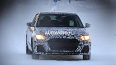 La future Audi A1 2018 surprise dans la neige