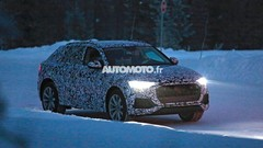 Le futur Coupé SUV Audi Q8 2018 en cours d'essais sur la neige
