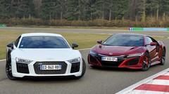 Essai Honda NSX vs Audi R8 : Les supers et l'extraordinaire