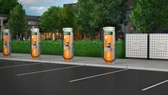 Chargepoint va installer des bornes 400 kW