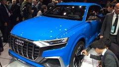Audi Q8 Concept : les premières photos au salon de Detroit 2017