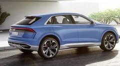 Audi Q8 Concept 2017 : Un grand SUV à la ligne de coupé pour 2018