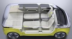 Concept électrique Volkswagen I.D. Buzz