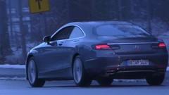 Voici les feux arrière de la Mercedes Classe S Coupé restylée